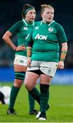 24 November 2018; Leah Lyons of Ireland during the Women's International Rugby match between England and Ireland at Twickenham Stadium in London, England. Photo by Matt Impey/Sportsfile