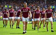 8 July 2018; Joe Canning of Galway prior to the Leinster GAA Hurling Senior Championship Final Replay match between Kilkenny and Galway at Semple Stadium in Thurles, Co Tipperary. Photo by Brendan Moran/Sportsfile