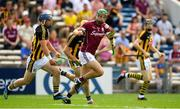 8 July 2018; Adrian Tuohey of Galway in action against Ger Aylward of Kilkenny during the Leinster GAA Hurling Senior Championship Final Replay match between Kilkenny and Galway at Semple Stadium in Thurles, Co Tipperary. Photo by Brendan Moran/Sportsfile