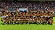 8 July 2018; The Kilkenny squad prior to the Leinster GAA Hurling Senior Championship Final Replay match between Kilkenny and Galway at Semple Stadium in Thurles, Co Tipperary. Photo by Brendan Moran/Sportsfile