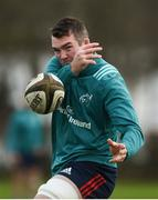 27 November 2018; Peter O'Mahony during Munster Rugby squad training at the University of Limerick in Limerick. Photo by Diarmuid Greene/Sportsfile