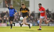 28 October 2018; Gavin White of Dr. Crokes in action against Michael Geaney of Dingle during the Kerry County Senior Club Football Championship Final match between Dr Crokes and Dingle at Austin Stack Park in Tralee, Kerry. Photo by Brendan Moran/Sportsfile