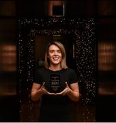 28 November 2018; Doireann O'Sullivan of Mourneabbey with the Croke Park Hotel and LGFA Player of the Month award for November at The Croke Park Hotel on Jones Road in Dublin. Doireann has been a key player for the Cork champions in their progress to a fourth All-Ireland Senior Club Final appearance in five seasons. In the All-Ireland semi-final victory over Galway's Kilkerrin-Clonberne on November 18, the Cork county star produced an outstanding individual display that saw her register eight points. Mourneabbey will play Foxrock-Cabinteely (Dublin) in the All-Ireland Final at Parnell Park on Saturday, December 8. Photo by Matt Browne/Sportsfile