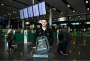 29 November 2018; Conor McManus of Monaghan in attendance at Dublin Airport prior to their departure to the PwC All Stars tour in Philadelphia, USA. Photo by David Fitzgerald/Sportsfile