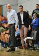 10 November 2018; Garvey's Tralee Warriors coach Pat Price during the Basketball Ireland Men's Superleague match between Garvey's Tralee Warriors and Belfast Star at Tralee Sports Complex in Tralee, Co Kerry. Photo by Piaras Ó Mídheach/Sportsfile