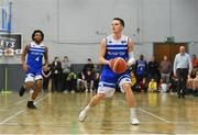 10 November 2018; Conor Quinn of Belfast Star during the Basketball Ireland Men's Superleague match between Garvey's Tralee Warriors and Belfast Star at Tralee Sports Complex in Tralee, Co Kerry. Photo by Piaras Ó Mídheach/Sportsfile