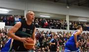 10 November 2018; A general view of spectators during the Basketball Ireland Men's Superleague match between Garvey's Tralee Warriors and Belfast Star at Tralee Sports Complex in Tralee, Co Kerry. Photo by Piaras Ó Mídheach/Sportsfile