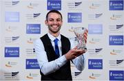 29 November 2018; Track and Field Athlete of the Year, Thomas Barr, during the Irish Life Health National Athletics Awards 2018 at the Crowne Plaza Hotel in Blanchardstown, Dublin. Photo by Sam Barnes/Sportsfile
