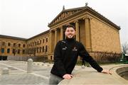 30 November 2018; Donegal's Ryan McHugh poses for a portrait at the Philadelphia Museum of Art during the PwC All Stars tour of Philadelphia, PA in the USA. Photo by Ray McManus/Sportsfile