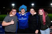 1 December 2018; Leinster supporters ahead of the Guinness PRO14 Round 10 match between Dragons and Leinster at Rodney Parade in Newport, Wales. Photo by Ramsey Cardy/Sportsfile