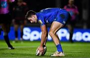 1 December 2018; Hugo Keenan of Leinster scores his side's sixth try during the Guinness PRO14 Round 10 match between Dragons and Leinster at Rodney Parade in Newport, Wales. Photo by Ramsey Cardy/Sportsfile