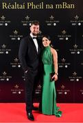 1 December 2018; Padraig Hallissey and Sarah Houlihan of Kerry in attendance at the TG4 Ladies Football All Stars Awards 2018, in association with Lidl, at the Citywest Hotel in Dublin. Photo by Brendan Moran/Sportsfile