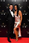 1 December 2018; Rob Heffernan with his wife Marian in attendance at the TG4 Ladies Football All Stars Awards 2018, in association with Lidl, at the Citywest Hotel in Dublin. Photo by Brendan Moran/Sportsfile