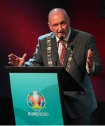 1 December 2018; Lord Mayor of Dublin Nial Ring during the UEFA EURO2020 Qualifying Draw Official Dinner at the Mansion House in Dublin. Photo by Stephen McCarthy/Sportsfile