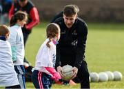 2 December 2018; PwC All Star footballer Karl O'Connell of Monaghan with members of the Philadelphia GAA Club during a Coaching Session as part of the PwC All Stars Football tour at Philadelphia GAA Club in Limerick Field, Longview Rd, Pottstown, Philadelphia, PA, USA. Photo by Ray McManus/Sportsfile