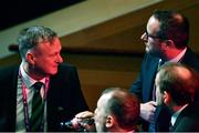 2 December 2018; Northern Ireland head coach Michael O'Neill following the UEFA EURO2020 Qualifying Draw at the Convention Centre in Dublin. Photo by Sam Barnes/Sportsfile