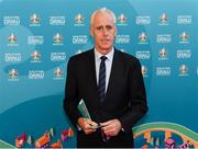 2 December 2018; Republic of Ireland manager Mick McCarthy prior the UEFA EURO2020 Qualifying Draw at the Convention Centre in Dublin. (Photo by Stephen McCarthy / UEFA via Sportsfile)