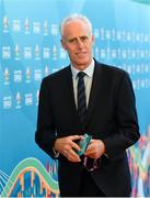 2 December 2018; Republic of Ireland manager Mick McCarthy prior to the UEFA EURO2020 Qualifying Draw at the Convention Centre in Dublin. Photo by Sam Barnes/Sportsfile