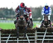 2 December 2018; Quick Grabim, with Ruby Walsh up, jumps the last on their way to winning the BARONERACING.COM Royal Bond Novice Hurdle during the Sunday of the Fairyhouse Winter Festival at Fairyhouse Racecourse in Meath. Photo by Matt Browne/Sportsfile