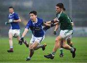 2 December 2018; Francis Maguire of Scotstown in action against Christopher McFadden of Gaoth Dobhair during the AIB Ulster GAA Football Senior Club Championship Final match between Gaoth Dobhair and Scotstown at Healy Park in Tyrone. Photo by Oliver McVeigh/Sportsfile