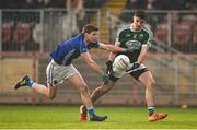 2 December 2018; Daire O'Baoill of Gaoth Dobhair in action against Damien McArdle of Scotstown during the AIB Ulster GAA Football Senior Club Championship Final match between Gaoth Dobhair and Scotstown at Healy Park in Tyrone. Photo by Oliver McVeigh/Sportsfile