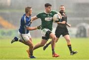 2 December 2018; Daire O'Baoill of Gaoth Dobhair in action against Jamie McCarey of Scotstown during the AIB Ulster GAA Football Senior Club Championship Final match between Gaoth Dobhair and Scotstown at Healy Park in Tyrone. Photo by Oliver McVeigh/Sportsfile