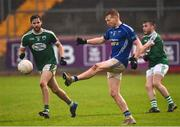 2 December 2018; Kieran Hughes of Scotstown in action against Odhrán Mac Niallais of Gaoth Dobhair during the AIB Ulster GAA Football Senior Club Championship Final match between Gaoth Dobhair and Scotstown at Healy Park in Tyrone. Photo by Oliver McVeigh/Sportsfile