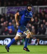 1 December 2018; Scott Fardy of Leinster during the Guinness PRO14 Round 10 match between Dragons and Leinster at Rodney Parade in Newport, Wales. Photo by Ramsey Cardy/Sportsfile