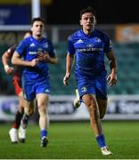 1 December 2018; Hugo Keenan of Leinster during the Guinness PRO14 Round 10 match between Dragons and Leinster at Rodney Parade in Newport, Wales. Photo by Ramsey Cardy/Sportsfile
