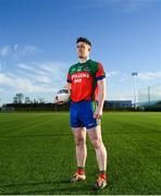 3 December 2018; Nigel Dunne of Shamrocks during the AIB Leinster GAA Club Football Finals Launch at the GAA Games Development Centre in Abbotstown, Dublin. Photo by David Fitzgerald/Sportsfile