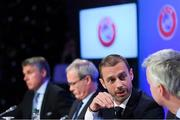 3 December 2018; UEFA President Aleksander Ceferin during a UEFA Executive Committee press conference at The Shelbourne Hotel in Dublin. Photo by Stephen McCarthy/Sportsfile