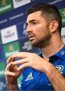 3 December 2018; Rob Kearney during a Leinster Rugby press conference at Leinster Rugby Headquarters in Dublin. Photo by Ramsey Cardy/Sportsfile