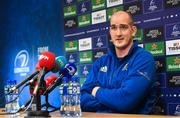 3 December 2018; Devin Toner during a Leinster Rugby press conference at Leinster Rugby Headquarters in Dublin. Photo by Ramsey Cardy/Sportsfile