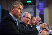 3 December 2018; UEFA Deputy General Secretary Giorgio Marchetti during a UEFA Executive Committee press conference at The Shelbourne Hotel in Dublin. Photo by Stephen McCarthy/Sportsfile
