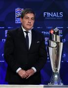 3 December 2018; Portugal FA President Fernando Gomes during the UEFA Nations League Finals Draw at The Shelbourne Hotel in Dublin. Photo by Stephen McCarthy/Sportsfile