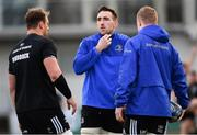 3 December 2018; Jack Conan, centre, Rhys Ruddock, left, and Dan Leavy during Leinster Rugby squad training at Energia Park in Donnybrook, Dublin. Photo by Ramsey Cardy/Sportsfile