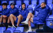 3 December 2018; Leinster players, from left, Jimmy O'Brien, Scott Penny, Caelan Doris and Scott Fardy during Leinster Rugby squad training at Energia Park in Donnybrook, Dublin. Photo by Ramsey Cardy/Sportsfile