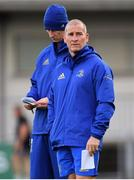 3 December 2018; Senior coach Stuart Lancaster, right, and head coach Leo Cullen during Leinster Rugby squad training at Energia Park in Donnybrook, Dublin. Photo by Ramsey Cardy/Sportsfile