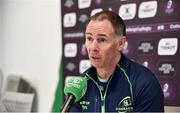 4 December 2018; Connacht head coach Andy Friend during a Connacht Rugby press conference at the Sportsground in Galway. Photo by Sam Barnes/Sportsfile