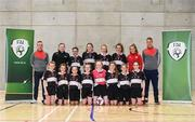4 December 2018; St. Attracta's Community School, Tubbercurry, Sligo, ahead of the Post-Primary Schools National Futsal Finals at Waterford IT Sports Arena in Waterford. Photo by Eóin Noonan/Sportsfile