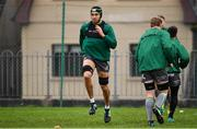 4 December 2018; Ultane Dillane during Connacht Rugby squad training at the Sportsground in Galway. Photo by Sam Barnes/Sportsfile