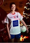 4 December 2018; Sarah Murphy, captain of Clontarf, during the 2018 All-Ireland Ladies Club Football Finals Captains Day at Croke Park in Dublin. Photo by David Fitzgerald/Sportsfile