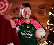 4 December 2018; Amy Turpin, captain of Glanmire, during the 2018 All-Ireland Ladies Club Football Finals Captains Day at Croke Park in Dublin. Photo by David Fitzgerald/Sportsfile