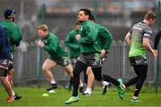 4 December 2018; James Mitchell during Connacht Rugby squad training at the Sportsground in Galway. Photo by Sam Barnes/Sportsfile