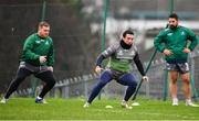 4 December 2018; Denis Buckley, centre, during Connacht Rugby squad training at the Sportsground in Galway. Photo by Sam Barnes/Sportsfile