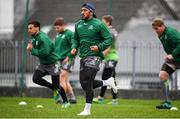 4 December 2018; Bundee Aki during Connacht Rugby squad training at the Sportsground in Galway. Photo by Sam Barnes/Sportsfile