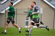 4 December 2018; Gavin Thornbury during Connacht Rugby squad training at the Sportsground in Galway. Photo by Sam Barnes/Sportsfile