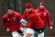 4 December 2018; CJ Stander during Munster Rugby squad training at the University of Limerick in Limerick. Photo by Diarmuid Greene/Sportsfile