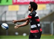 6 December 2018; Henry Speight during the Ulster Rugby Captain's Run at the Kingspan Stadium in Belfast. Photo by Oliver McVeigh/Sportsfile