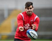 6 December 2018; Louis Ludik during the Ulster Rugby Captain's Run at the Kingspan Stadium in Belfast. Photo by Oliver McVeigh/Sportsfile